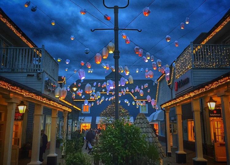 Bicester Village Lanterns