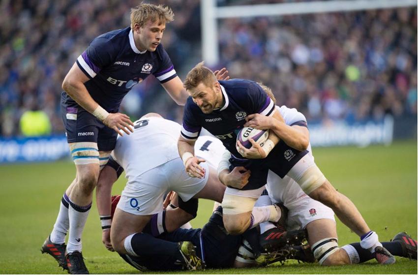 John Barclay tackle