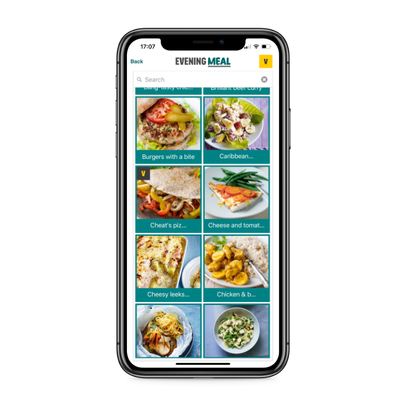 Easy Meals app recipies