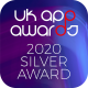 UK App Awards 2020 Silver Award
