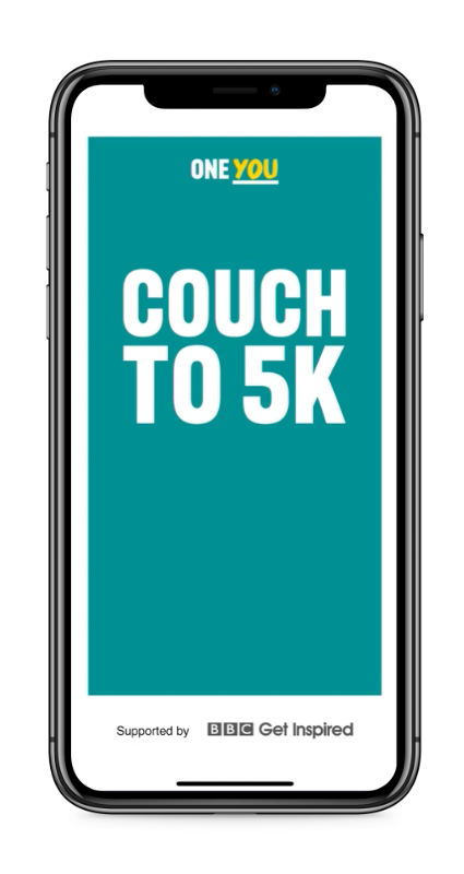 One You Couch to 5K app screen